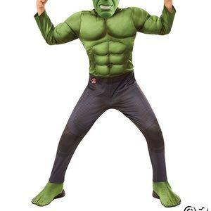 Boys Marvel Avengers Hulk Costume